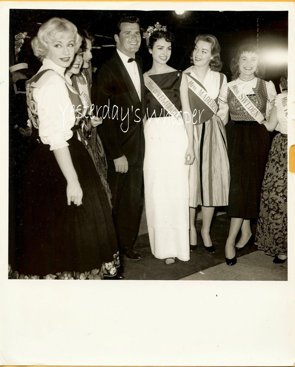 James Garner Miss Cinemiracle Pageant Beauties Photo