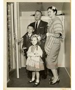 George Gobel Family Press Photo 1960s Retro Fashion - $14.99