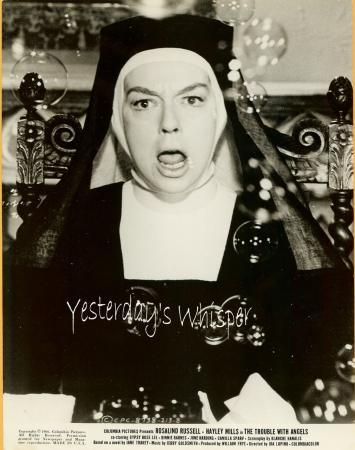 NUN Rosalind Russell The TROUBLE with ANGELS Photo