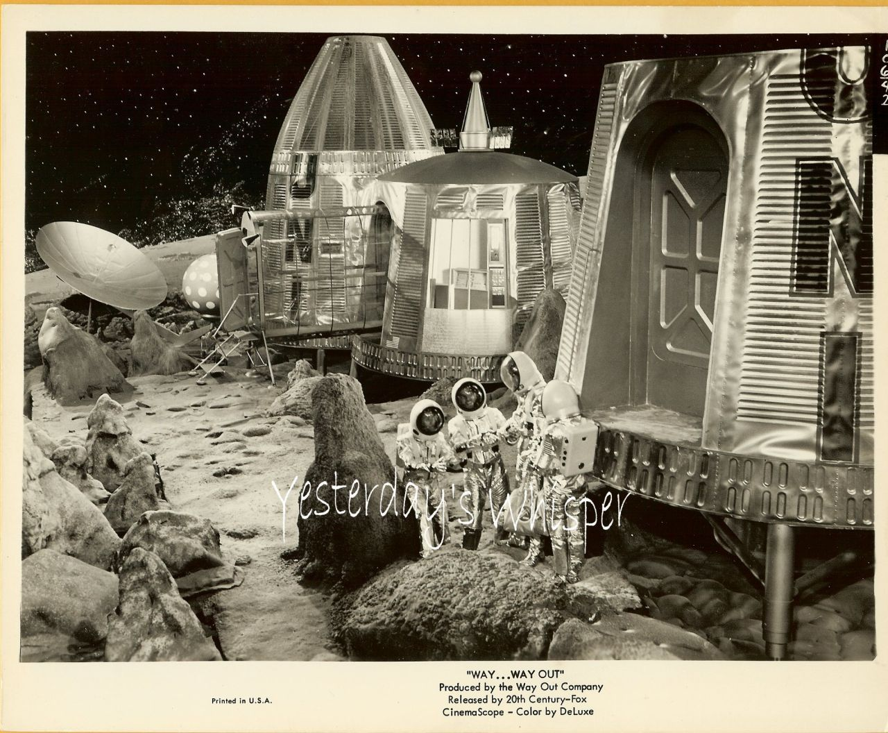 Jerry Lewis Dennis Weaver WAY Way OUT 1966 Movie Photo