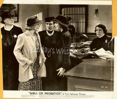 Ronald Reagan Jane Bryan Girls on Probation 2 Photos