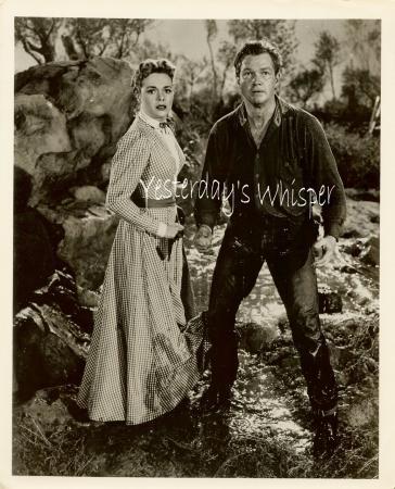1955 TV Photo Schlitz Playhouse of Stars Bill Williams K546