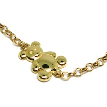 Bracelet Yellow Gold 18k 750, Baby Girl, Plate, Teddy Bear, Bear, Length... - $365.83