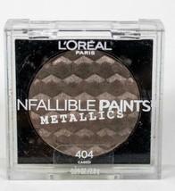 L'Oreal Infallible Paints Metallic Eyeshadow - 404 Caged - $4.99