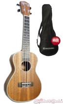 """Suzuki Ukulele - 24"""" Concert Mahogany Ukulele with Free Padded Gigbag  - $99.99"""