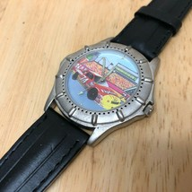 Vintage Lipton Tea Racing By Valdawn Mens Leather Quartz Watch Hours~New... - $18.99