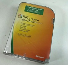 Microsoft Office Home And Student 2007  w/ Product Key - Word, Excel Pow... - $18.80