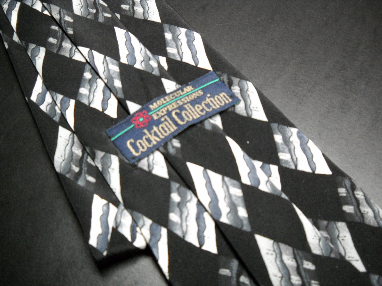 Molecular Expressions Cocktail Collection by Stonehenge Neck Tie White Russian