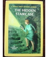 Nancy Drew Mystery #2 THE HIDDEN STAIRCASE HC/DJ 1976 - $5.99