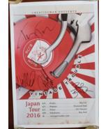 Vintage Trouble Japan Concert Tour 2016 Schedule autographed 11 x 17 poster - $99.95