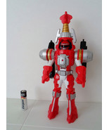 Power Rangers Operation Overdrive Morphing TURBO DRILL RED RANGER Bandai Loose!! - $7.99