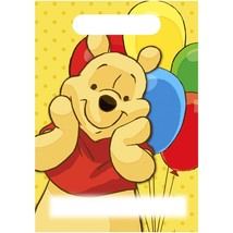 Winnie Pooh Baby Party Gift Birthday Decoration BAGS x8 Loots First 1st ... - $4.90