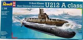 Revell 1:144 Scale U-Boot Klasse U212 A Class New German Submarine Kit 05019 - $23.99