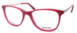 GUESS GU2566 075 Women's Eyeglasses Frames Petite 49-17-135 Shiny Fuchsia - $65.24