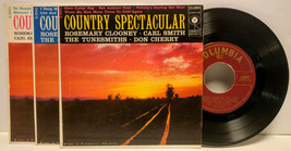 Country Spectacular, Columbia B-8941 B-8942 B-8943, 45 rpm 3 record set ... - $24.00