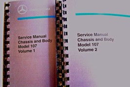 mercedes 450sl 560SL owners service manual chassis body w107 reprint 38... - $148.49