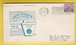 AMERICAN LEGION STATE CONVENTION PHILADELPHIA PA AUGUST 25 1933  - $1.98