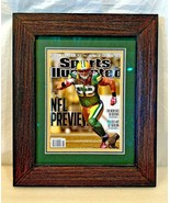 CLAY MATTHEWS Matted & Framed Sports Illustrated Cover..Museum Glass - $29.69