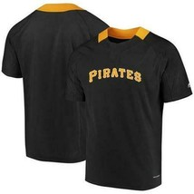 NEW MENS MAJESTIC PITTSBURGH PIRATES COOL BASE NEVER WANNA SHIRT M MLB B... - $26.66