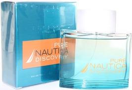Pure Nautica Discovery Eau de Toilette Spray 50 mL For Him - $23.49