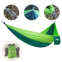 Hammock Stong Easy and Comfortable Outdoor Relax Green Color - $11.87