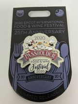 Chef Mickey And Minnie 2020 Epcot Food And Wine Festival Disney Passhold... - $22.99