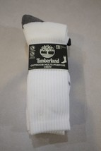Timberland Men's 4 Pair Outdoor Multi-Purpose Crew Socks size 9-12 New - $16.82
