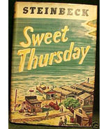 SWEET THURSDAY BY JOHN STEINBECK,1954 HCDJ PAUL GALDONE - $124.99