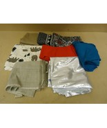 Designer Box of Material Multicolor Various Sizes Fabric - $35.47
