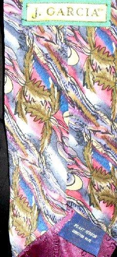 JERRY GARCIA Silk Necktie TIE Collection#5 Plant Person