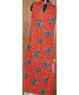 Vintage MOD 70s bold OP ART Maxi Dress Gown - $44.99