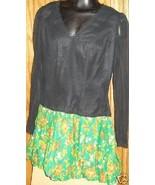 Vtg 70s MOD Mini Dress colorful bubble skirt - $43.99