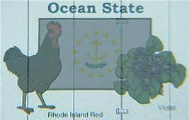 Micro Trains 02100409 Rhode Island State Series - $24.25