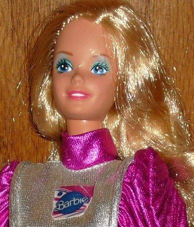 1980s BARBIE Doll 1985 Mattel ASTRONAUT loose