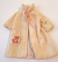 Vintage 1963 Black Label Skipper Robe Housecoat Dreamtime Pink Mattel Ba... - $10.78