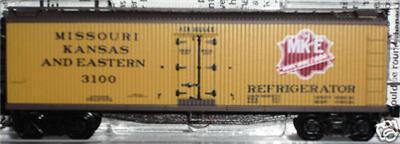 Micro Trains 49360 MKE 40' Reefer 3100