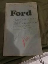 1974 FULL-SIZE FORD ORIGINAL VINTAGE OWNER'S MANUAL - $4.94