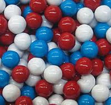 SIXLETS RED WHITE AND BLUE, 1LB - $10.53