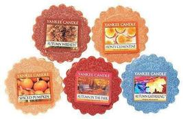 Yankee Candle Fall Favorites Tarts Wax Melts Collection Gift Set - $25.00