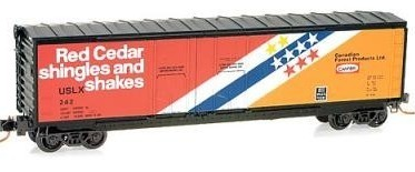 Micro Trains 07500060 CANFOR 50' Boxcar 242