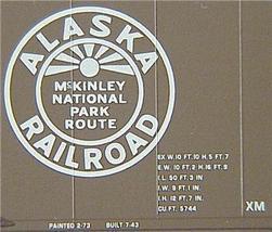Micro Trains 77030 Alaska 50' boxcar 8019 - $22.25