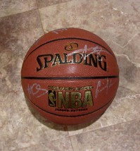 2014-15 GOLDEN STATE WARRIORS TEAM AUTOGRAPHED F.S. BASKETBALL w/COA NBA... - $850.00