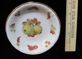 Berry Nut Bowl Royal Heidelberg Winterling Apple Fruit Design Gold Trim ... - $8.90