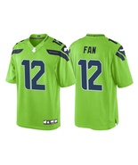 #12 Fan Seahawks Mens Womens Jersey All Sizes Custom Embroidered  - $59.90