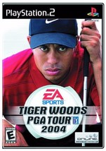 Tiger Woods PGA Tour 2004 Golf Play Station 2 PS2 Video Game Sony - $7.20