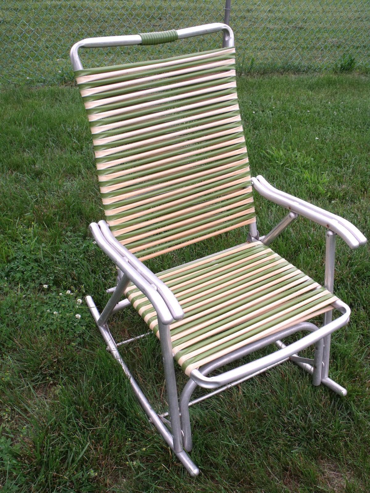 Fantastic Vintage Mid Century Aluminum Two Tone Tube And 50 Similar Items Machost Co Dining Chair Design Ideas Machostcouk