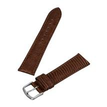 Hadley Roma MS716 20mm Brown Stitched Lizard Grain Men's Strap Watc... SHIPSFREE - $19.95