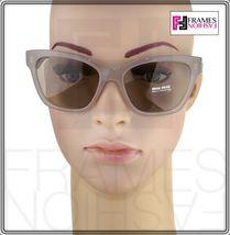 MIU MIU PAVE EVOLUTION MU 06R Square Black Rock Opal Argil Sunglasses MU06RS image 3