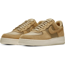 NIKE AIR FORCE 1 MID '07 TRAINER SPORTS SNEAKERS MEN SHOES BEIGE SIZE 7 NEW - $98.99