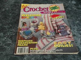 Crochet World Special Magazine Spring 1983 Volume 15 No 1 Granny Cat Afghan - $2.99